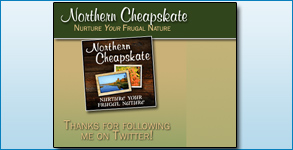 Twitter Background Created: Northern Cheapskate