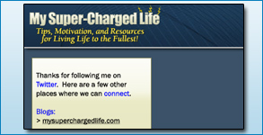 Twitter Background Created: MySuperChargedLife.com