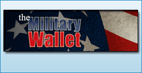 Logo Created: The Military Wallet