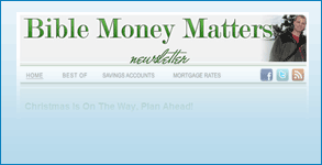 Custom Aweber Email Template Created: Bible Money Matters