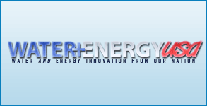 Logo And Twitter Background Created: Water + Energy USA