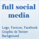 Logo, Favicon, Facebook Graphic & Twitter Background